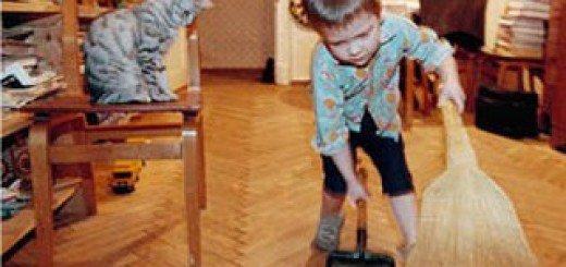 Дети и беспорядок