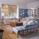 голубая мебель
