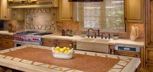 Модель деревянного кухонного стола