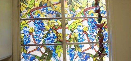 Мозаичная пленка на окна