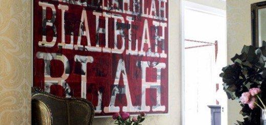 Красота украшения стен плакатами