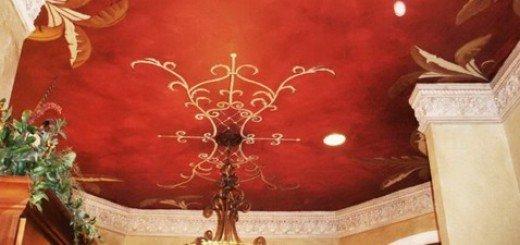 Декоративная роспись потолков