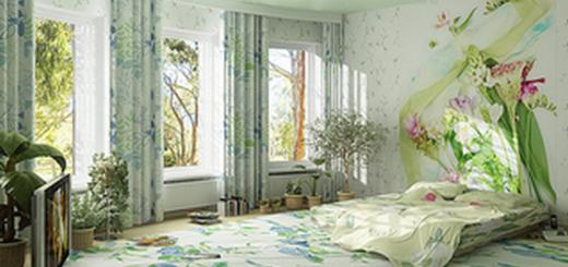 Выбор цвета спальни