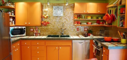 Выбор цвета кухни