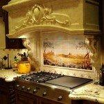 Дизайн кухонного фартука творит чудеса
