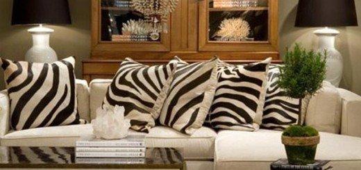 Искусство размещения подушек в интерьере