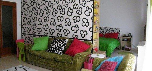 Зонирование однокомнатной квартиры