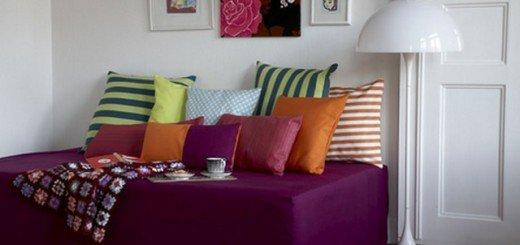 Полоски в интерьере помогут украсить дом