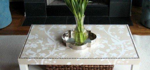 Элегантный кофейный столик своими руками