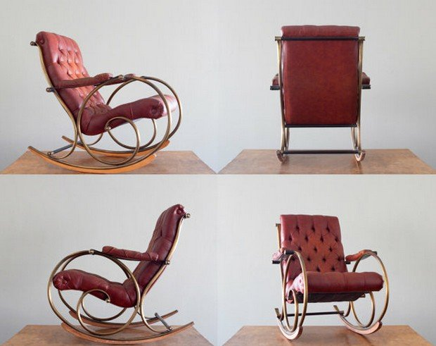 Стильные кресла-качалки