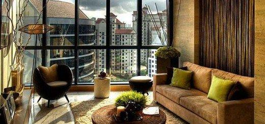 Симпатичная маленькая гостиная