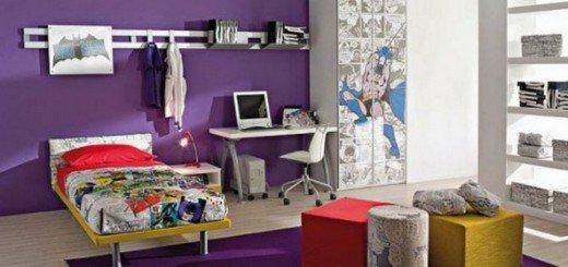 Идеи интерьера в фиолетовом цвете