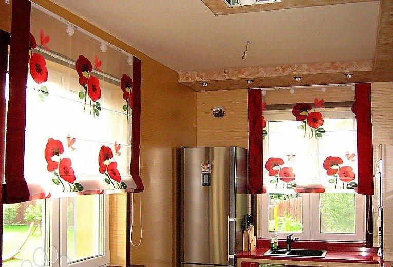 Римские шторы - достойное украшение любого интерьера