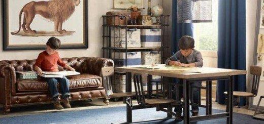 Комната для мальчика, традиционные идеи декора