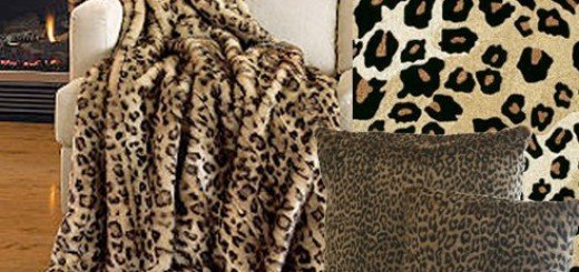 Леопардовый интерьер создает необузданный дух Африки