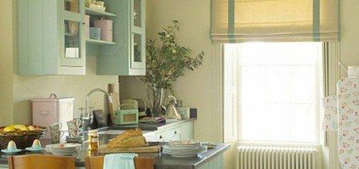 Стиль кухни коттедж - это простота деревни и комфорт города