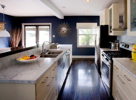 Стены на кухне - всегда новое решение