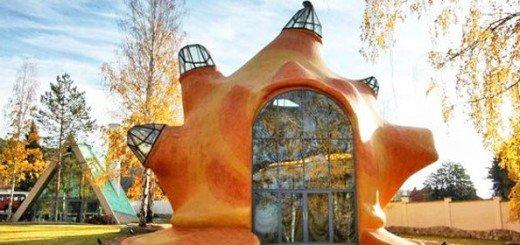 Уникальный дом Морская раковина