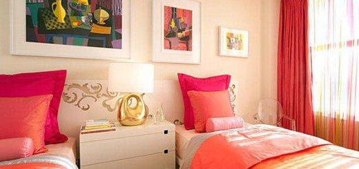 Спальня для девушки, не только розовый цвет