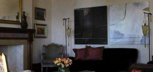 Сложный темный интерьер от Мелиссы Коллисон