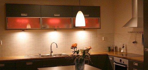 Свет в дизайне кухни и столовой