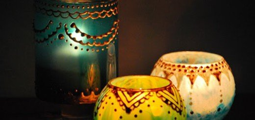 Сделать подсвечник в Марокканском стиле