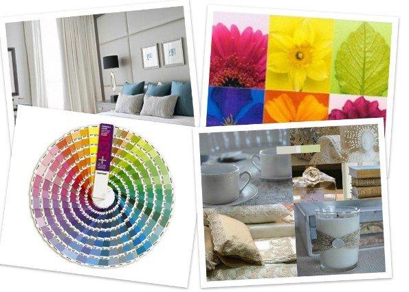 Цветовые палитры Pantone