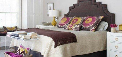 Отделка спальни в разных вариантах
