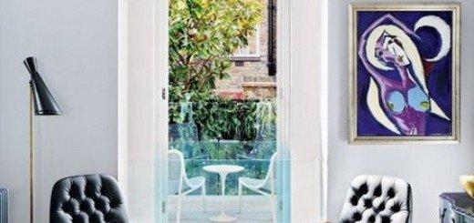 Классический британский стиль домашнего интерьера