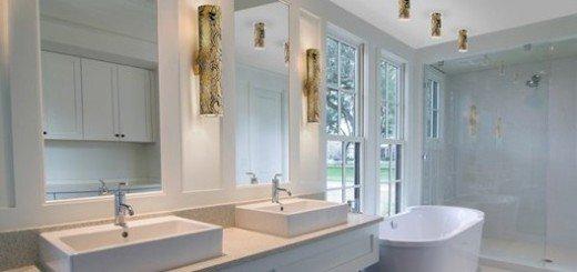 Выбор светильников увеличит шарм ванной