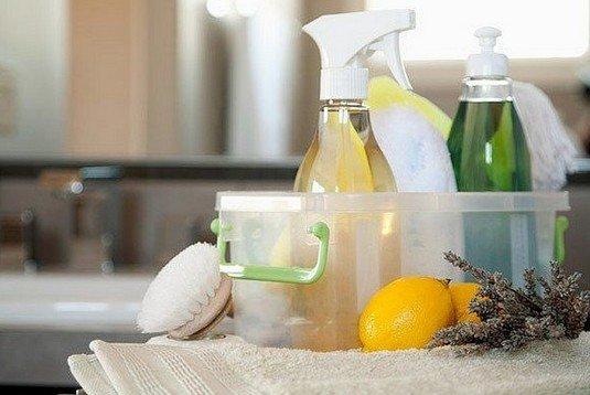 Естественные средства уборки для нашего дома