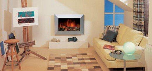Камин в квартире для тепла и уюта