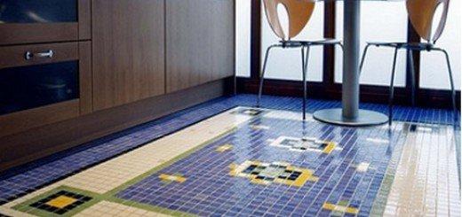 Особенности использования мозаики в интерьере