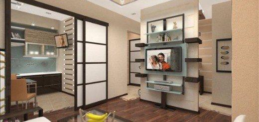Интерьер маленькой квартиры в азиатском стиле