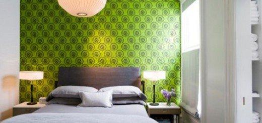 Обои для стен спальни, стили, узоры и цвета
