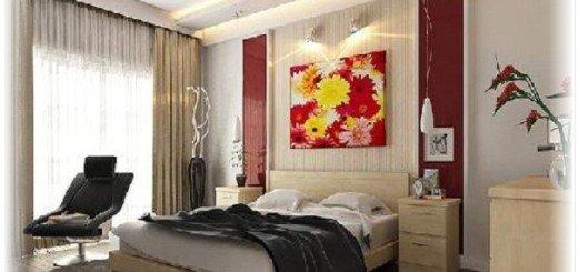 Аксессуары для интерьера традиционной спальни