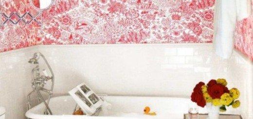 Что будет если добавить красный цвет в ванной