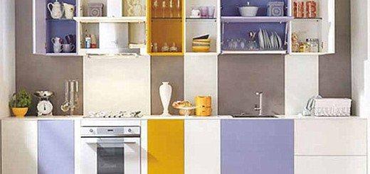Кухонный стеллаж, красиво и функционально