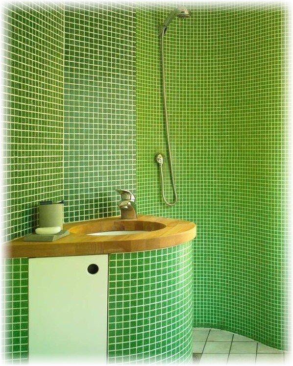 Плитка. в ванной