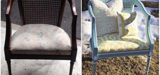 Новое сиденье старого кресла