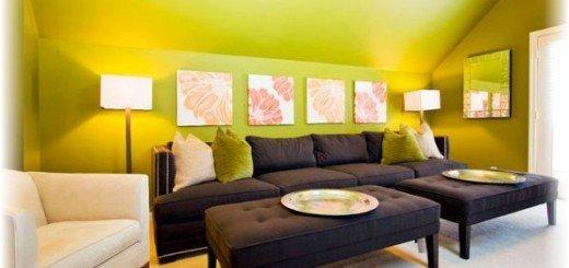 Желтые стены для общительных людей