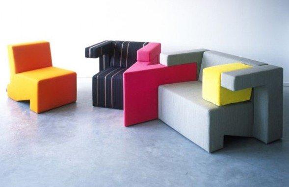 Оригинальная мебель - пазлы