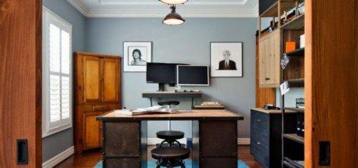 Письменный стол в индустриальном стиле