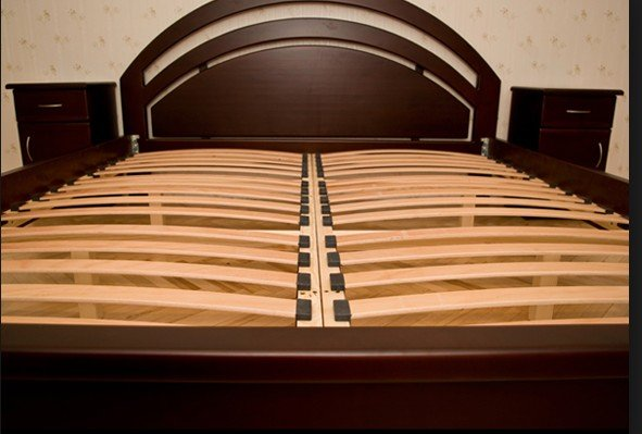 Выбор ламели  кровати