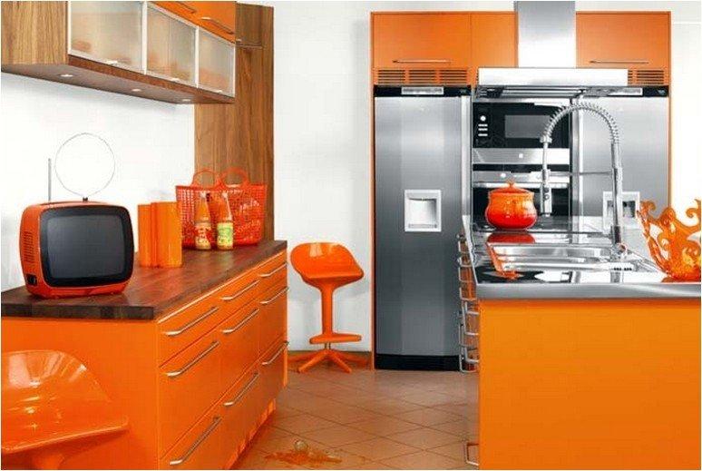 цвет в интерьере кухни