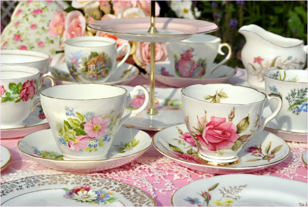 Чайный набор, китайский фарфор
