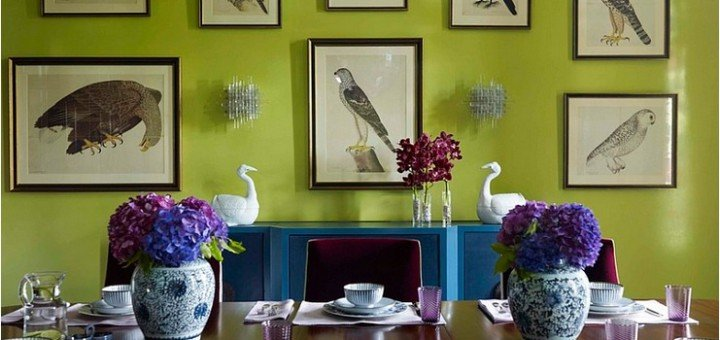 домашний декор с птицами