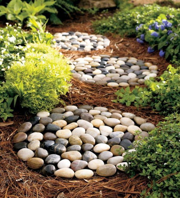 Поделки из камней Каменные дорожки