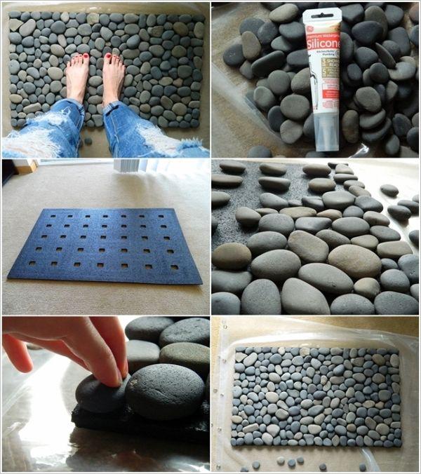 Поделки из камней -Коврик