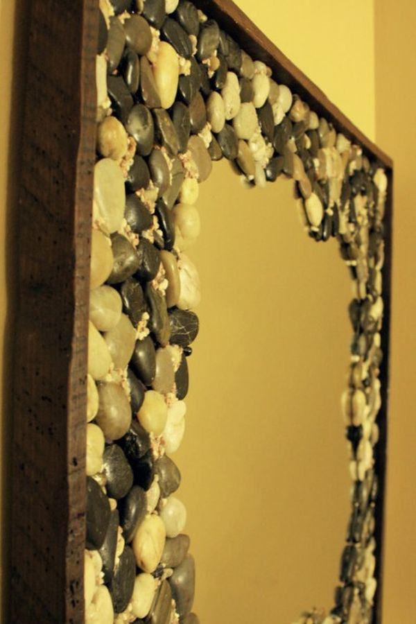 Поделки из камней Обновление зеркала